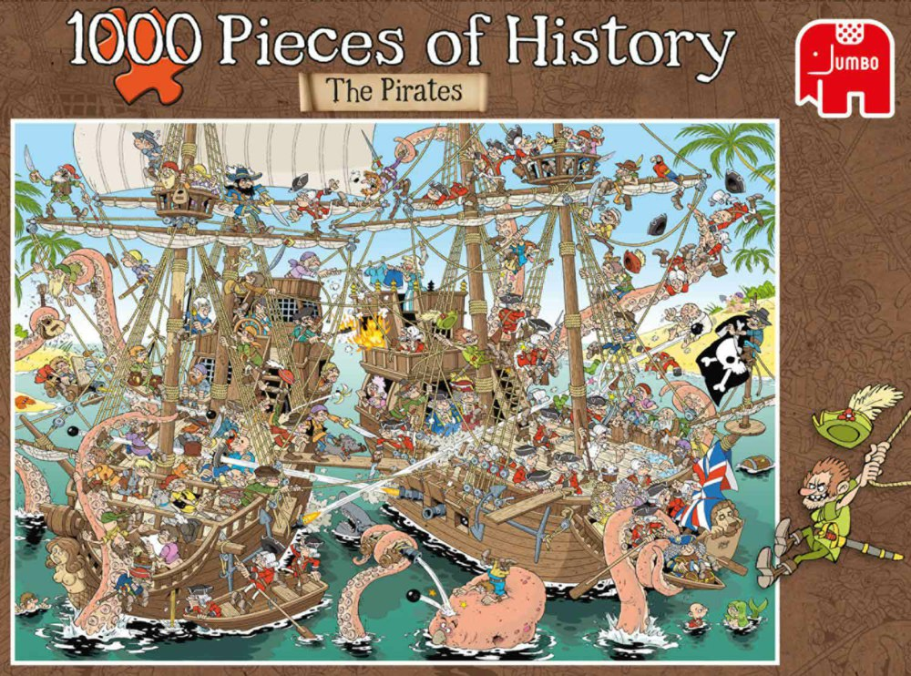 """Pusle """"Pieces of History Pirates"""", 1000 tk"""