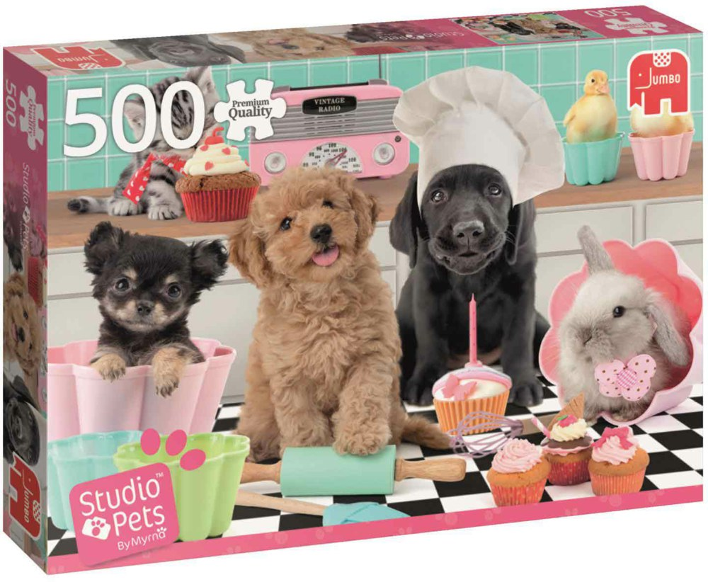 "Pusle ""Studio Pets Cupcakes"", 500 tk"