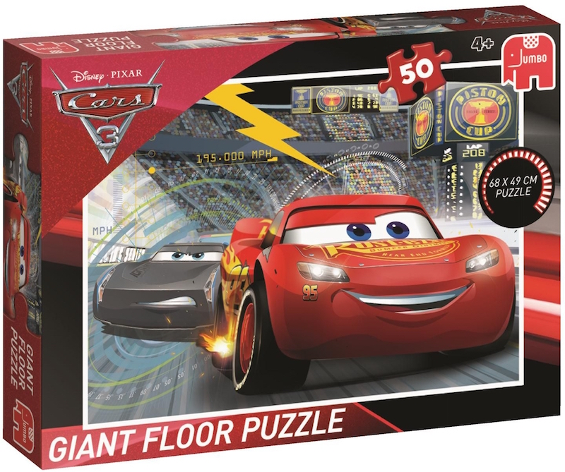 "Pusle ""Disney Cars3"", 50 tk"
