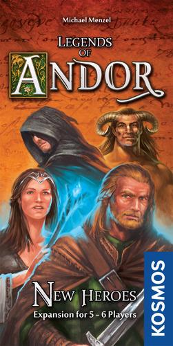 Legends of Andor New Heroes