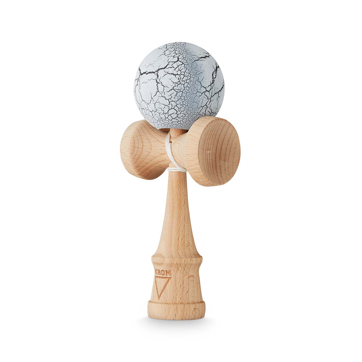KROM Crack White/Black kendama