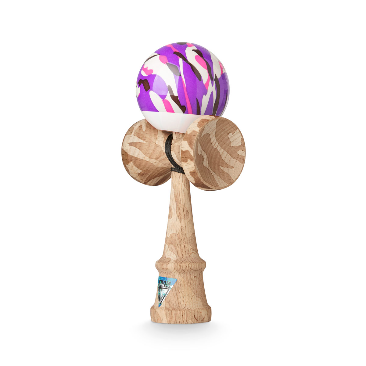 KROM KAMO Purple kendama