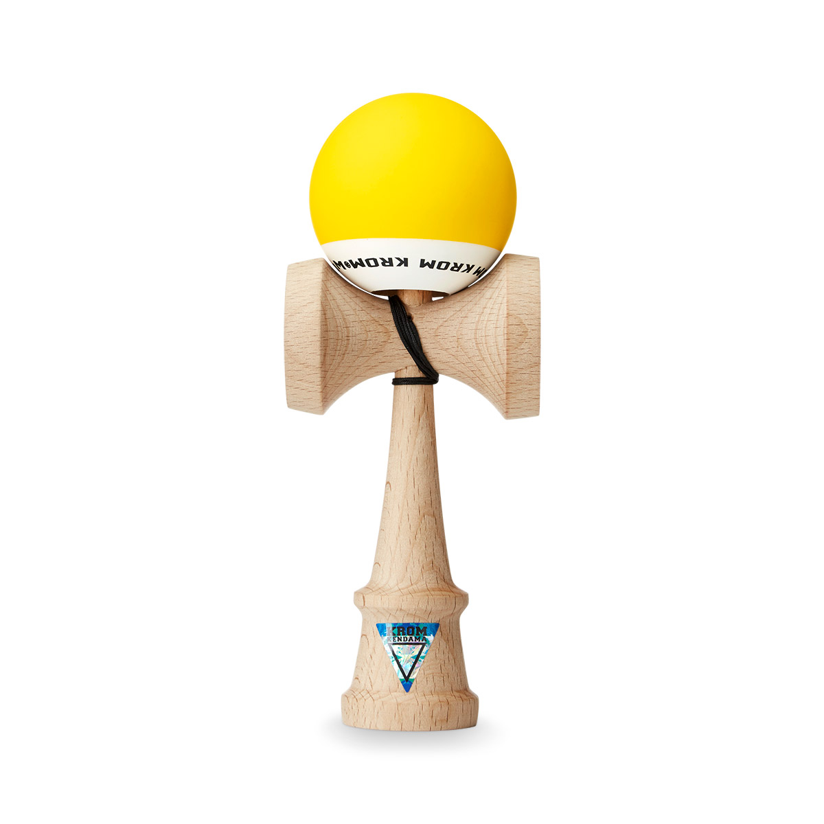KROM POP Yellow kendama