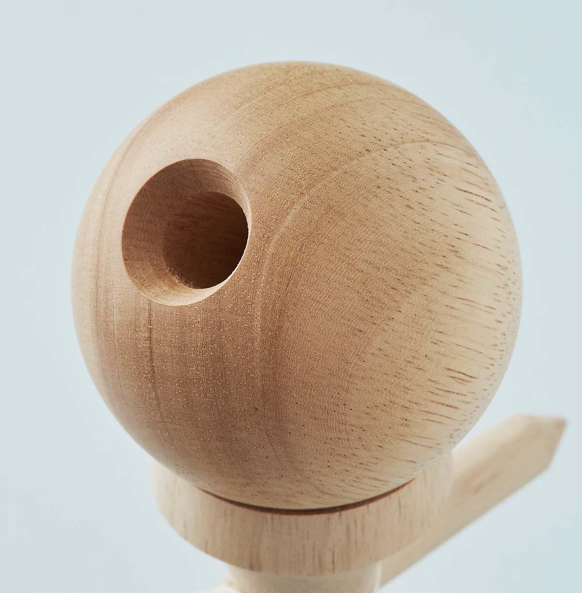 KROM Viking Rubber Wood kendama