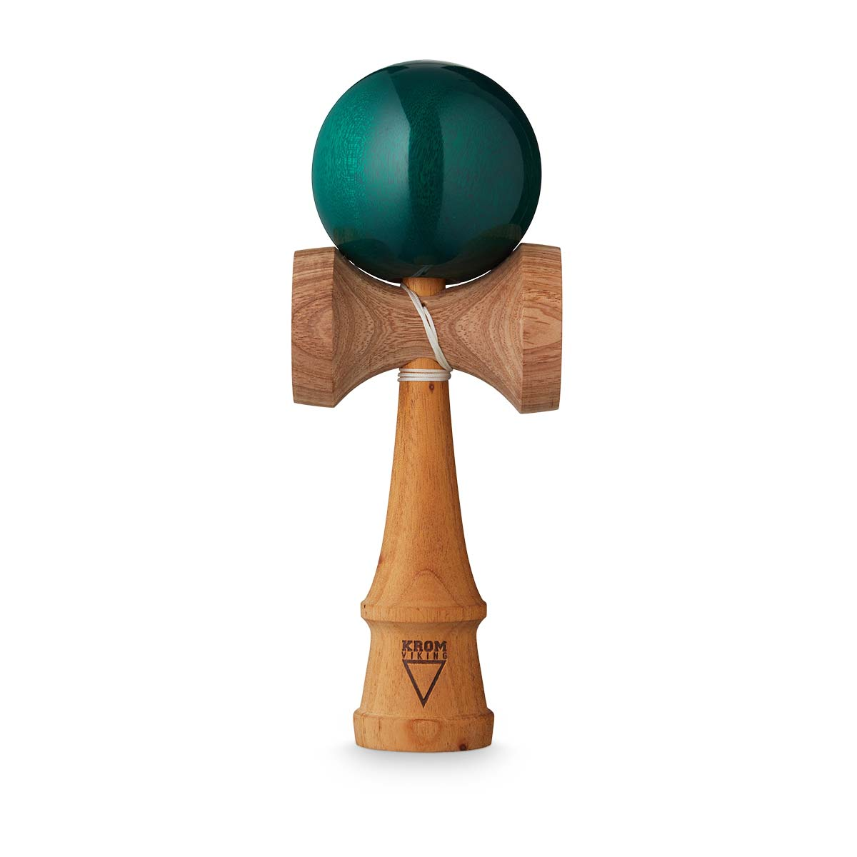 KROM Viking Mahogany Emerald kendama