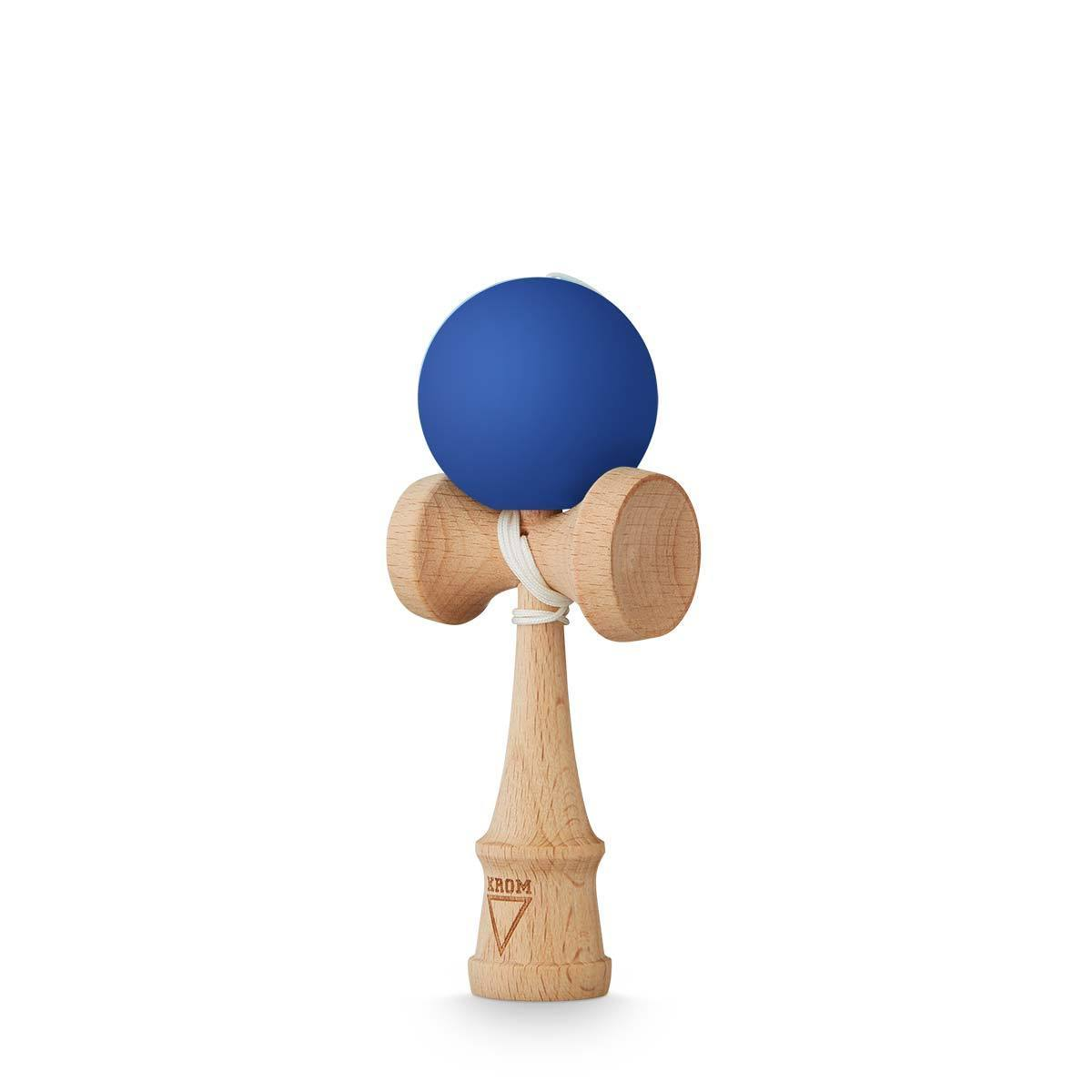 KROM Rubber Solid Dark Blue kendama