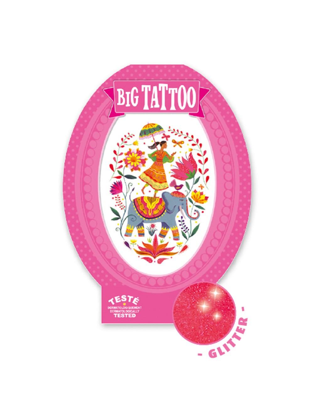 Body Art - Tattoos - Rose India