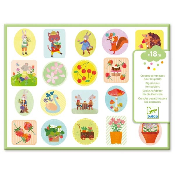 Small gifts for little ones - Stickers - The