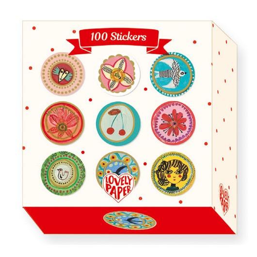 Stickers - 100 Aurelia stickers