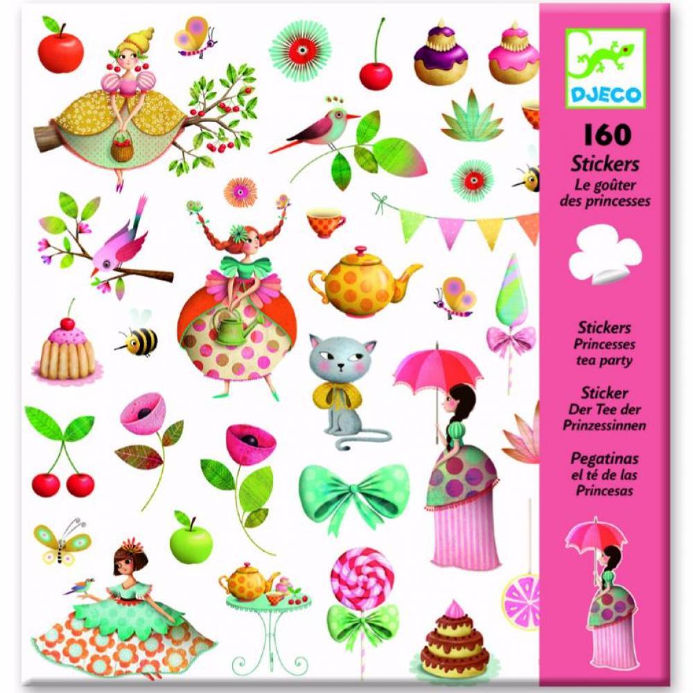 Stickers - Princess Tea Party