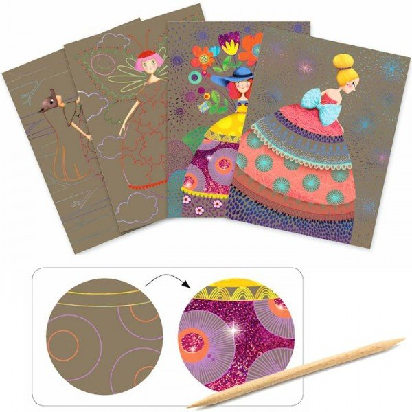 Small gift - Scratch cards - The beauties' ball