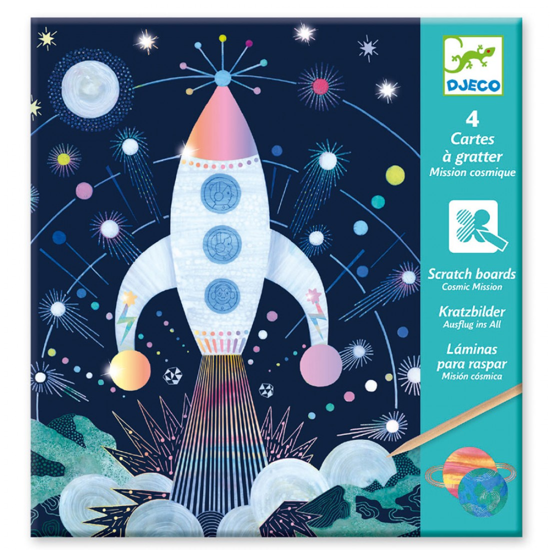 Small gifts - Scratch cards - Cosmic mission