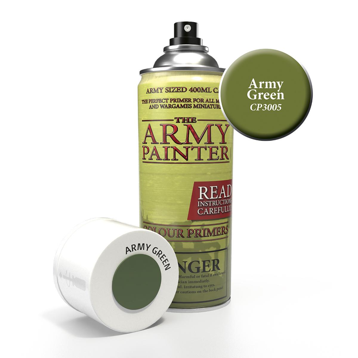 Kruntvärv - Army green