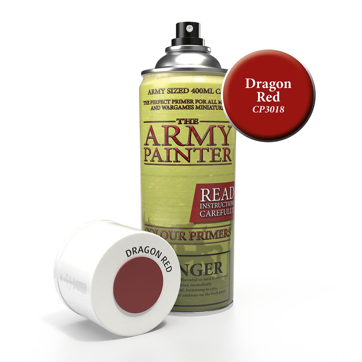 Kruntvärv - Dragon Red