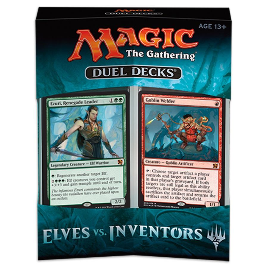 Magic Elves vs. Inventors Duel Deck