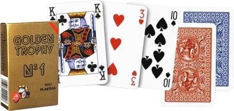 Bridži kaardid (punane)