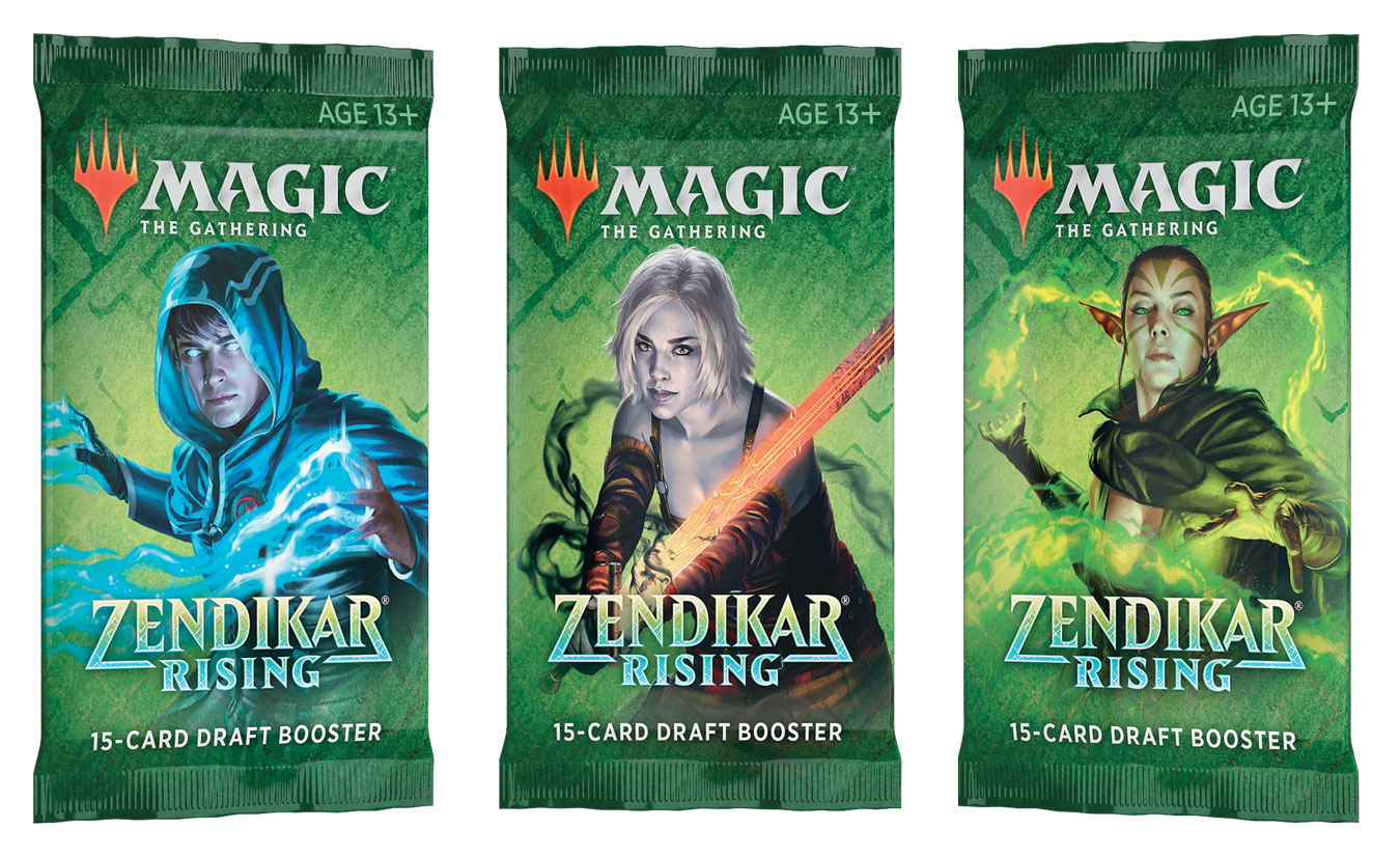 Magic Zendikar Rising Draft Booster