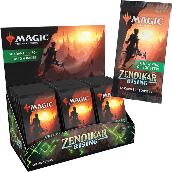 Magic Zendikar Rising Set Booster