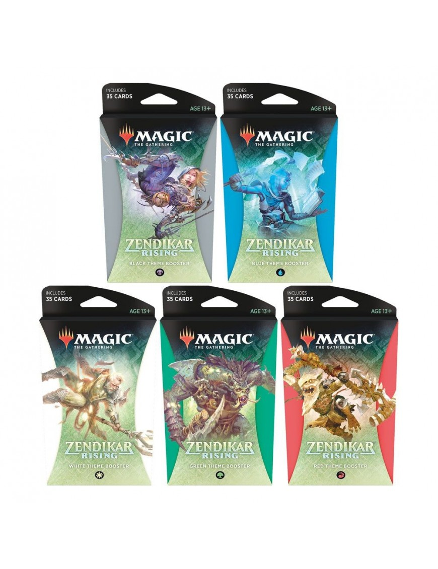 Magic Zendikar Rising Theme Booster