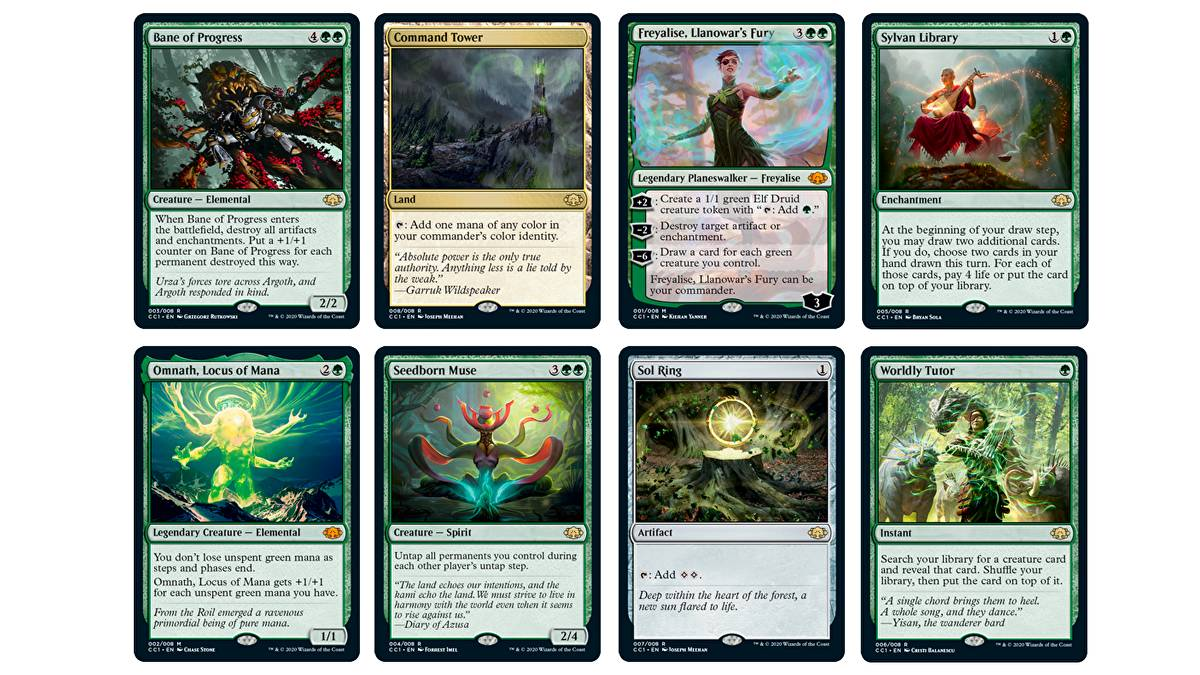 Magic the Gathering Commander Collection Green