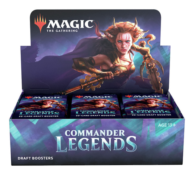 Magic the Gathering Commander Legends Booster