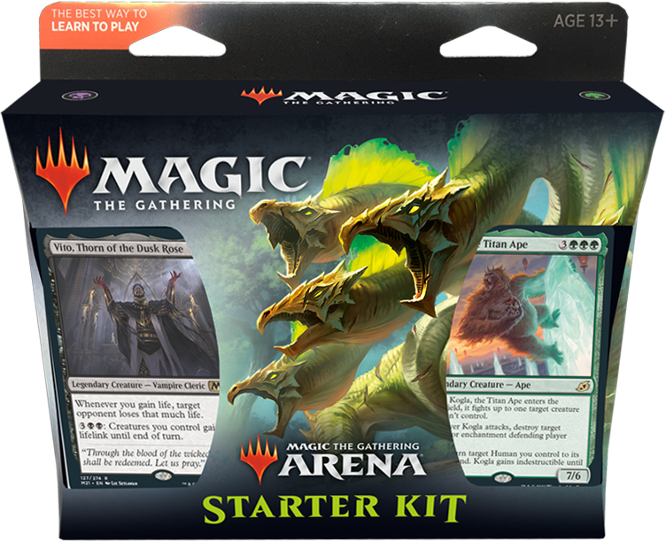 Magic the Gathering Core 2021 Arena Starter Kit