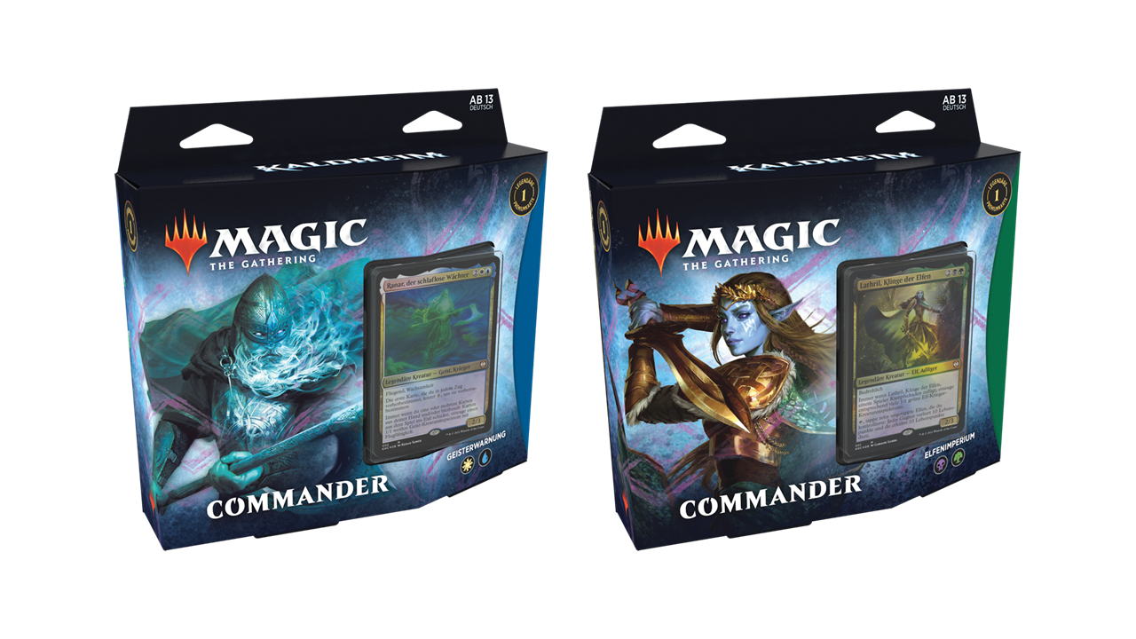 Magic the Gathering Kaldheim Commander Deck