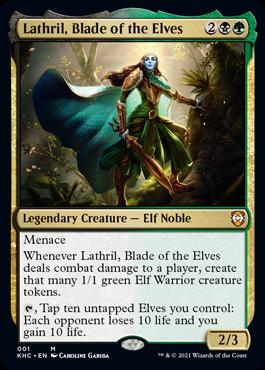 Magic the Gathering Kaldheim Commander Deck