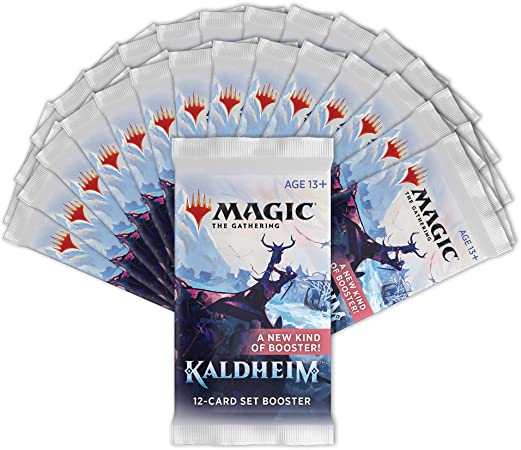 Magic the Gathering Kaldheim Theme Booster