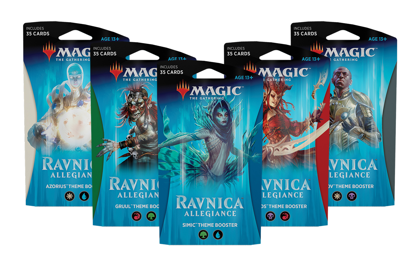 Magic the Gathering Ravnica Allegiance Theme Booster