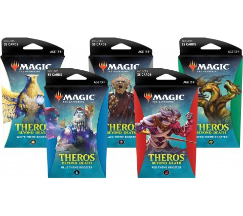 Magic the Gathering Theros Beyond Death Theme Booster
