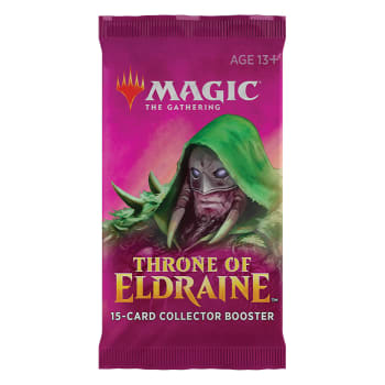 Magic the Gathering Throne of Eldraine Collectors Booster