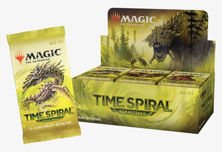 Magic the Gathering Time Spiral Remastered Draft Booster