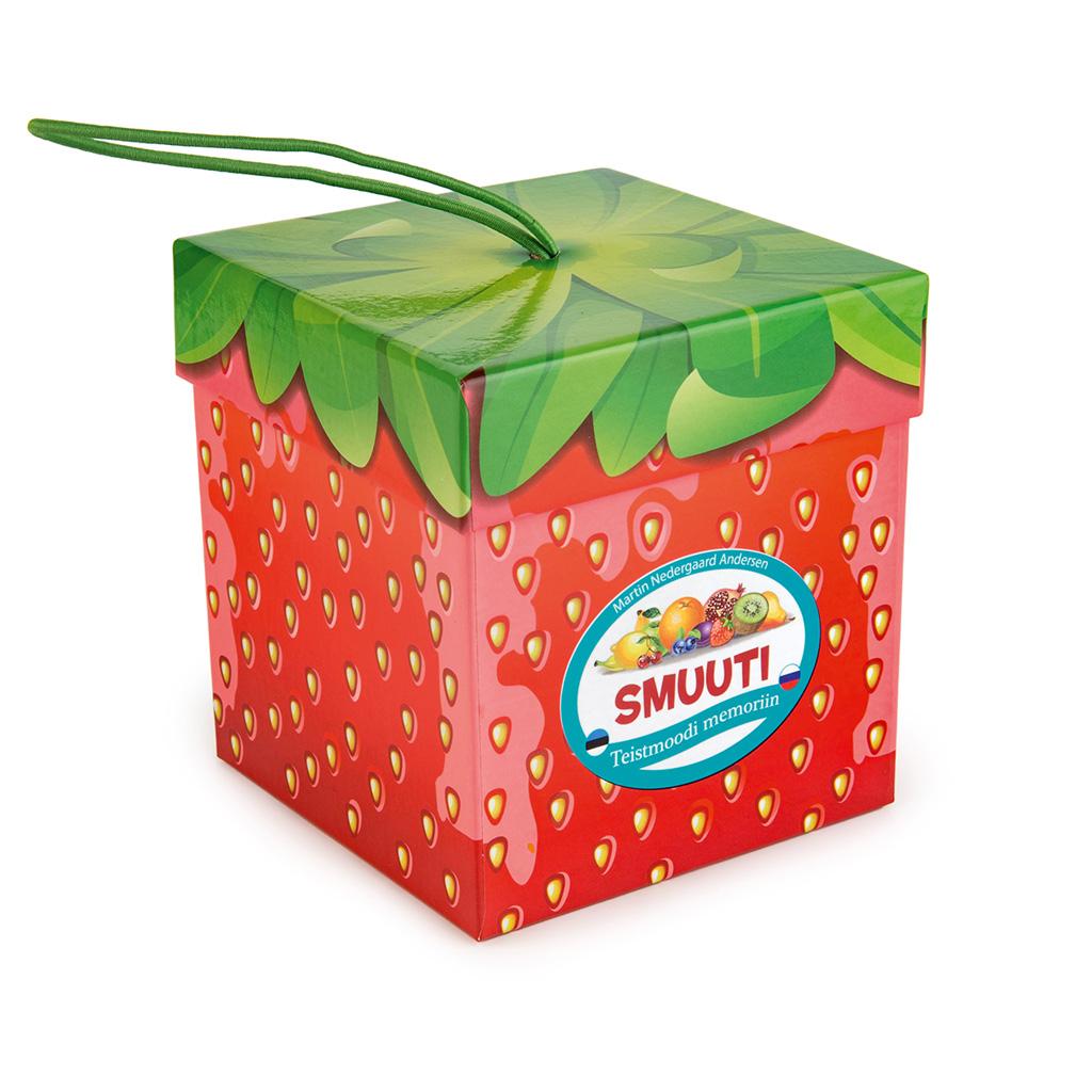 Smuuti maasikas - teistmoodi memoriin