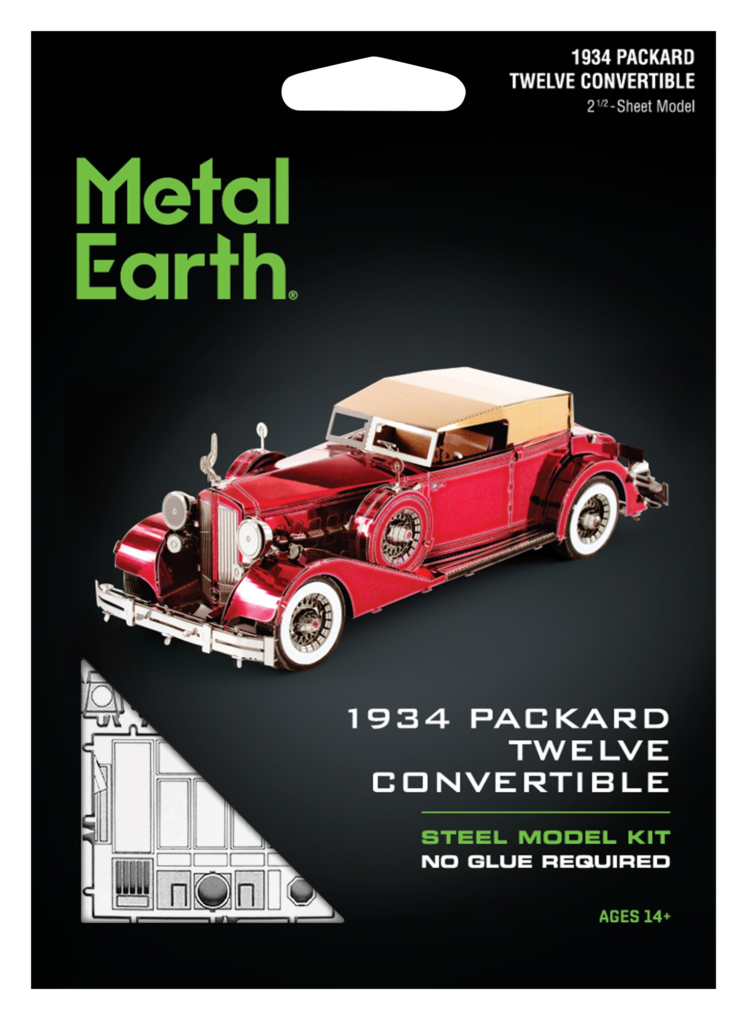 Metal Earth ''1934 Packard Twelve Convertible''