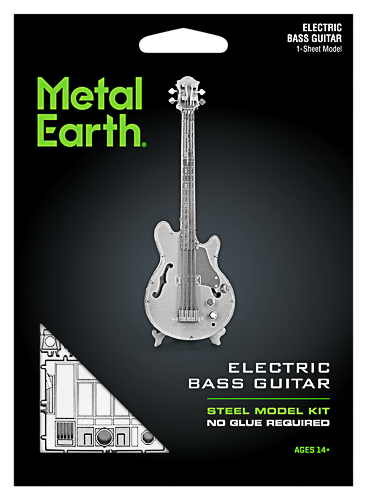 Metal Earth ''Bass Guitar''