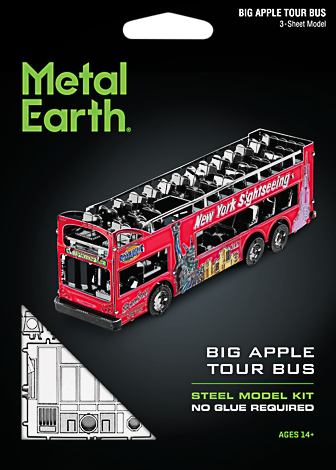 Metal Earth ''Big Apple Tour Bus''