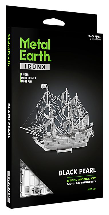 Metal Earth ''Black Pearl Premium''