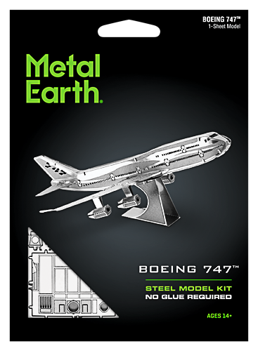 Metal Earth ''Boeing 747''