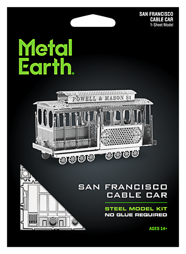 Metal Earth ''Cable Car''