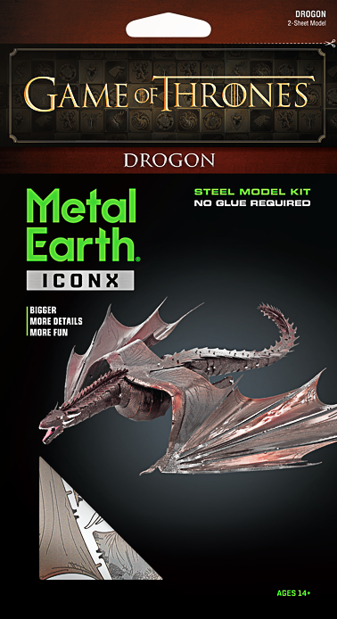 Metal Earth ''Drogon''