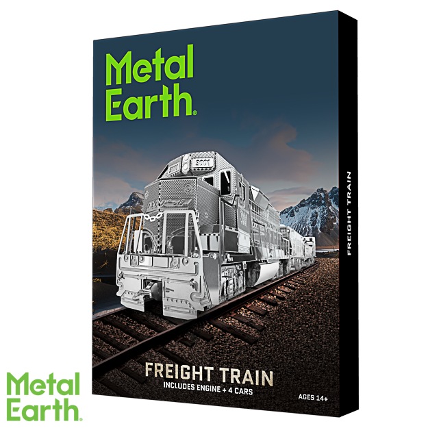 Metal Earth ''Freight Train Set''