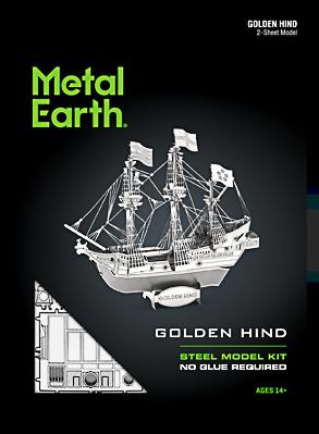Metal Earth ''Golden Hind''