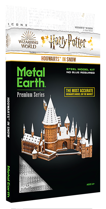 Metal Earth ''Harry Potter Hogwarts In Snow''