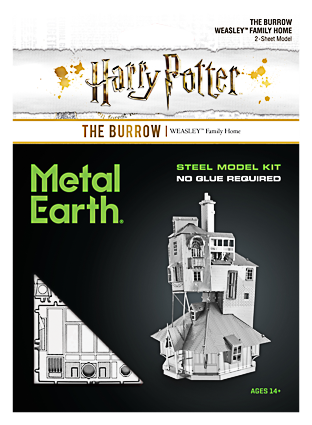 Metal Earth ''Harry Potter The Burrow''