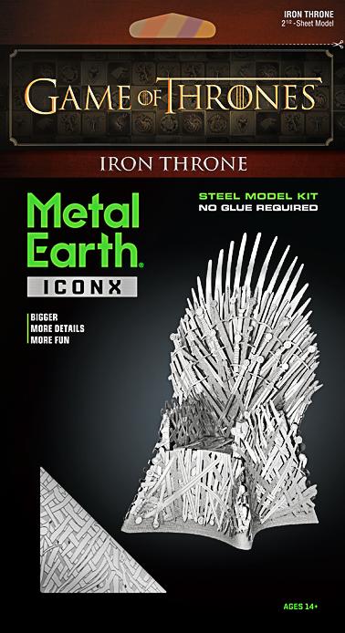 Metal Earth ''Iron Throne''