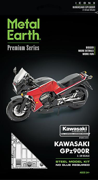Metal Earth ''Kawasaki GPz900R''