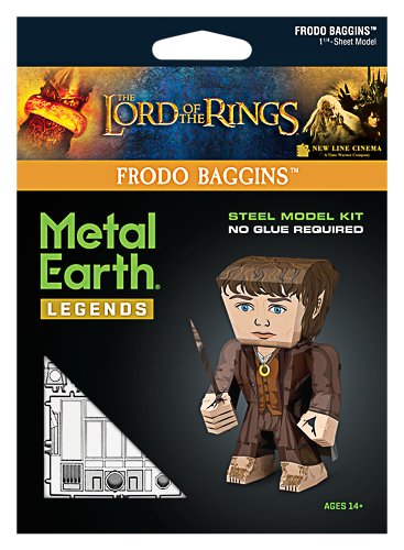 Metal Earth ''Legends, LOTR Frodo''