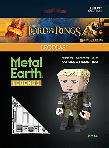 Metal Earth ''Legends, LOTR Legolas''
