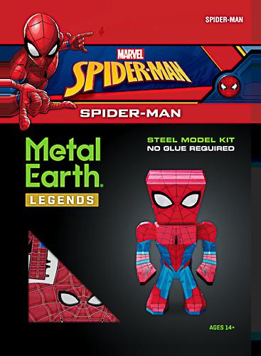 Metal Earth ''Legends, Spider-Man''